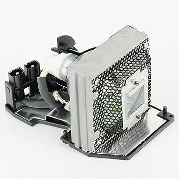 haiwo tlplmt20de haute qualité Ampoule de projecteur de remplacement compatible avec boîtier pour Toshiba TDP-MT200/MT400; MT400.