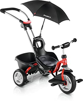 Puky CAT S2 Ceety - Tricycle - rouge 2018 tricycle bebe