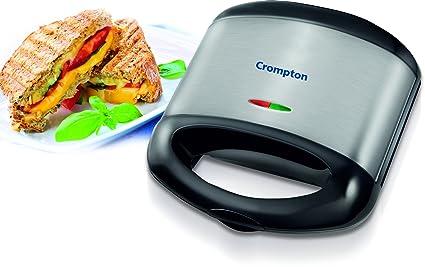 Crompton ACGT-HST3S-I 750-Watt Sandwich Toaster (Stainless Steel) at amazon