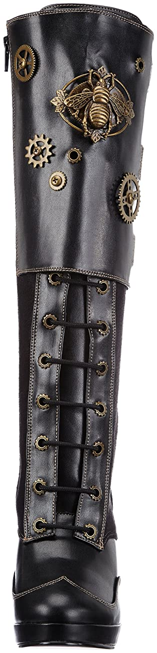 Pleaser Women's Crypto-302 Knee-High Boot 1
