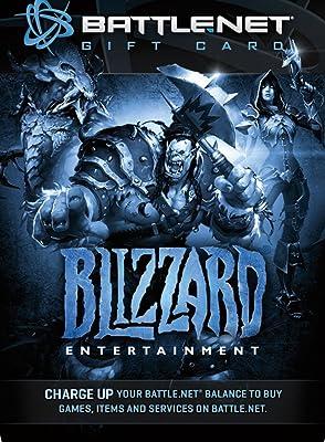 20 Battlenet Store Gift Card Balance - Blizzard Entertainment Digital Code