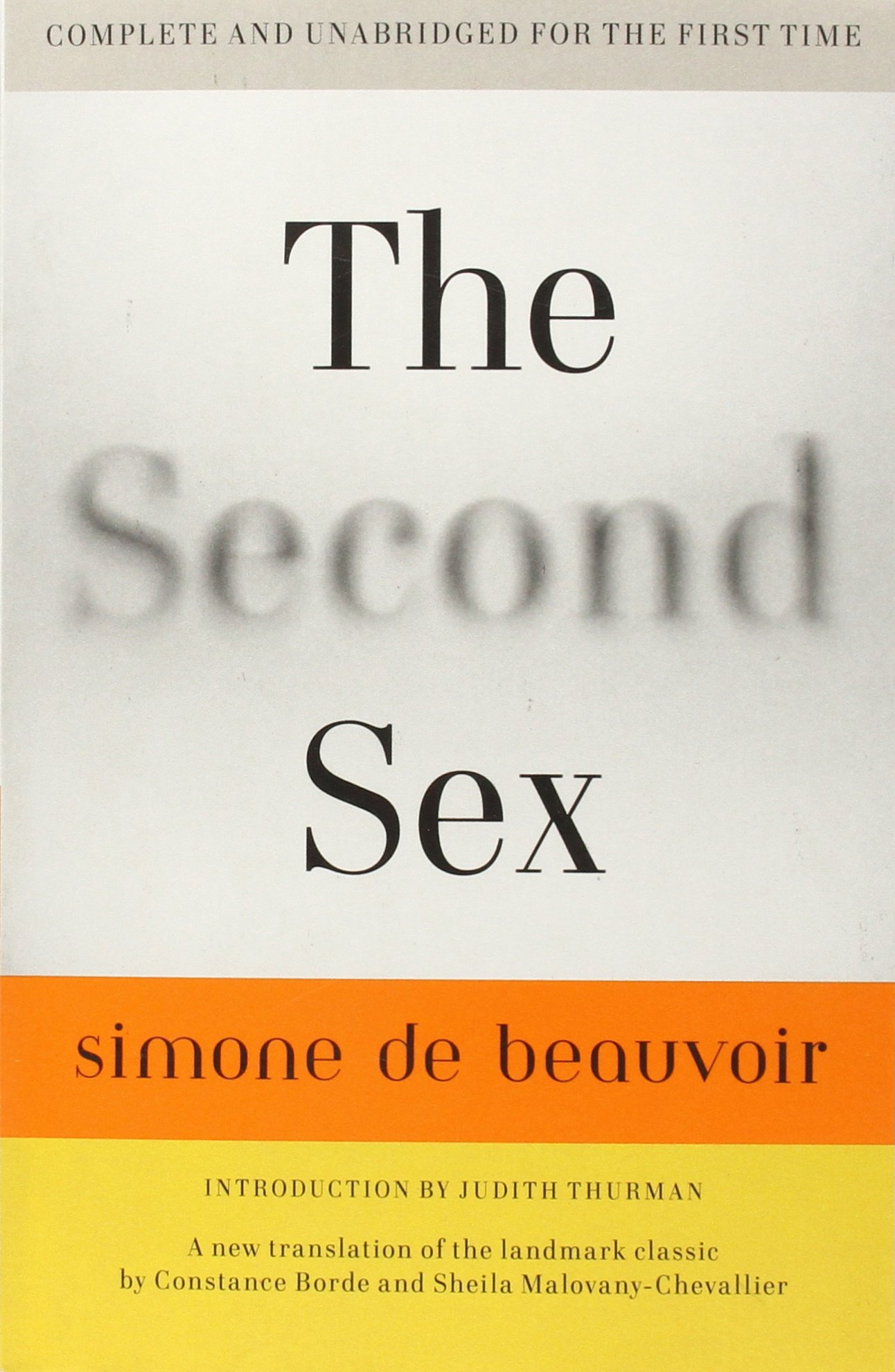 The Second Sex ISBN-13 9780307277787