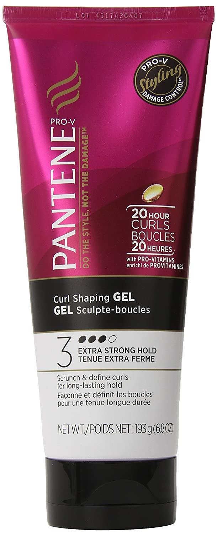 Pantene Pro-V Curl Shaping Hair Gel 6.8 Oz (Pack of 3)