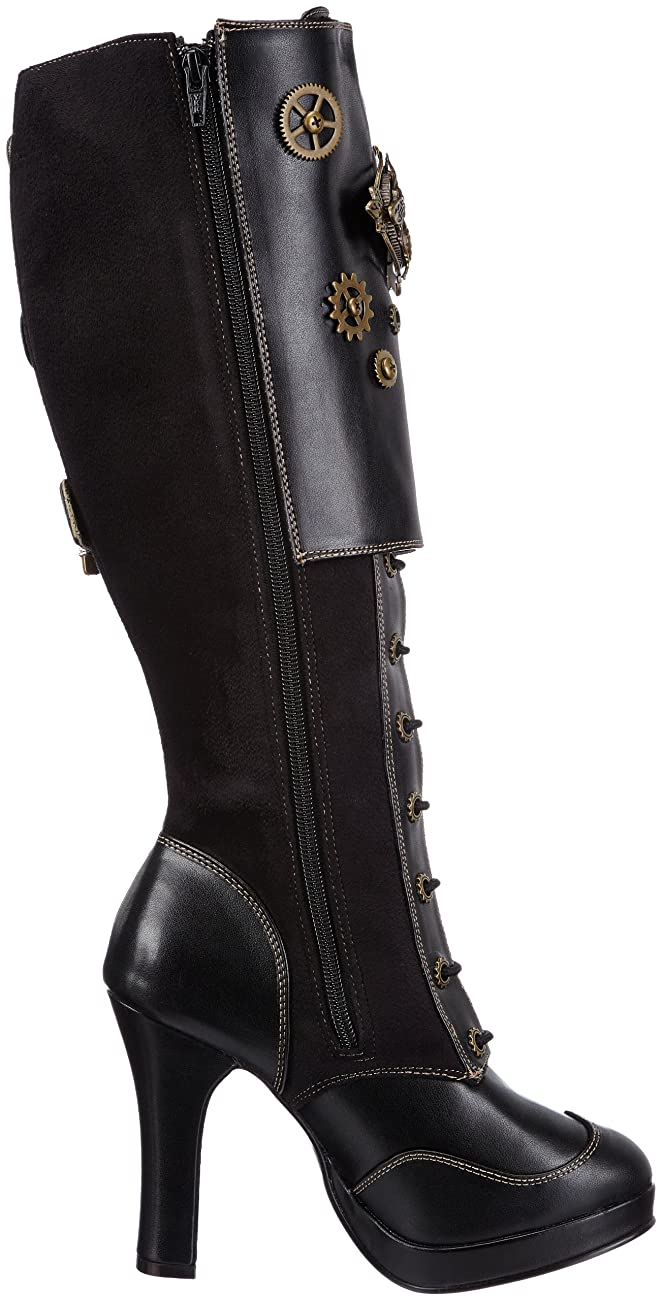 Pleaser Women's Crypto-302 Knee-High Boot 5