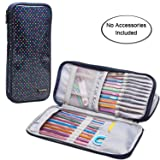 Teamoy Tunisian Crochet Hook Case(up to 11