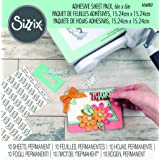 Sizzix Adhesive Sheets, 6 by 6-Inch, 10/Pack (Color: Multicolor, Tamaño: 6 by 6-Inch)