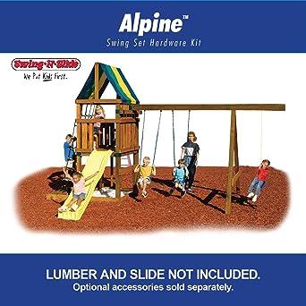 Alpine Custom Ready-to-Build Swing Set Kit: