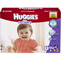 Huggies Little Movers Diapers, Size 5, 132 Count