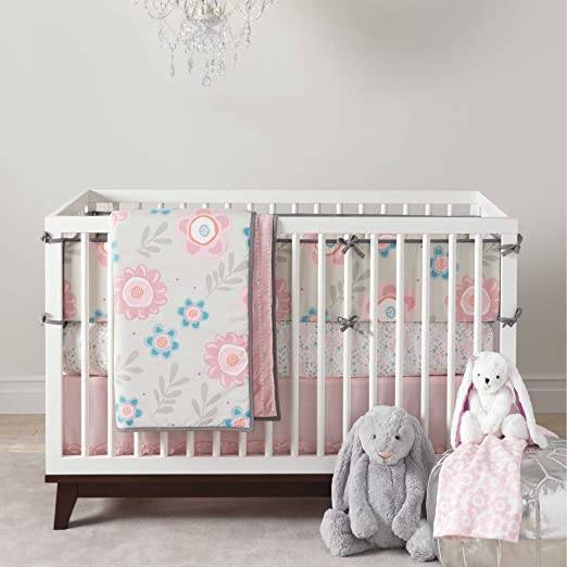 Lambs and Ivy Layla Crib Bedding