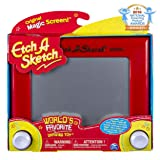Etch A Sketch, Classic Red Drawing Toy with Magic Screen, for Ages 3 and Up (Color: For Ages 3 and Up)