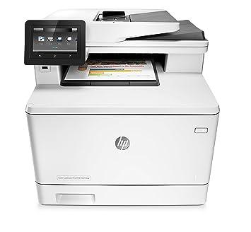 HP M477fnw Imprimante Laser Jet Pro Blanc/Gris Foncé