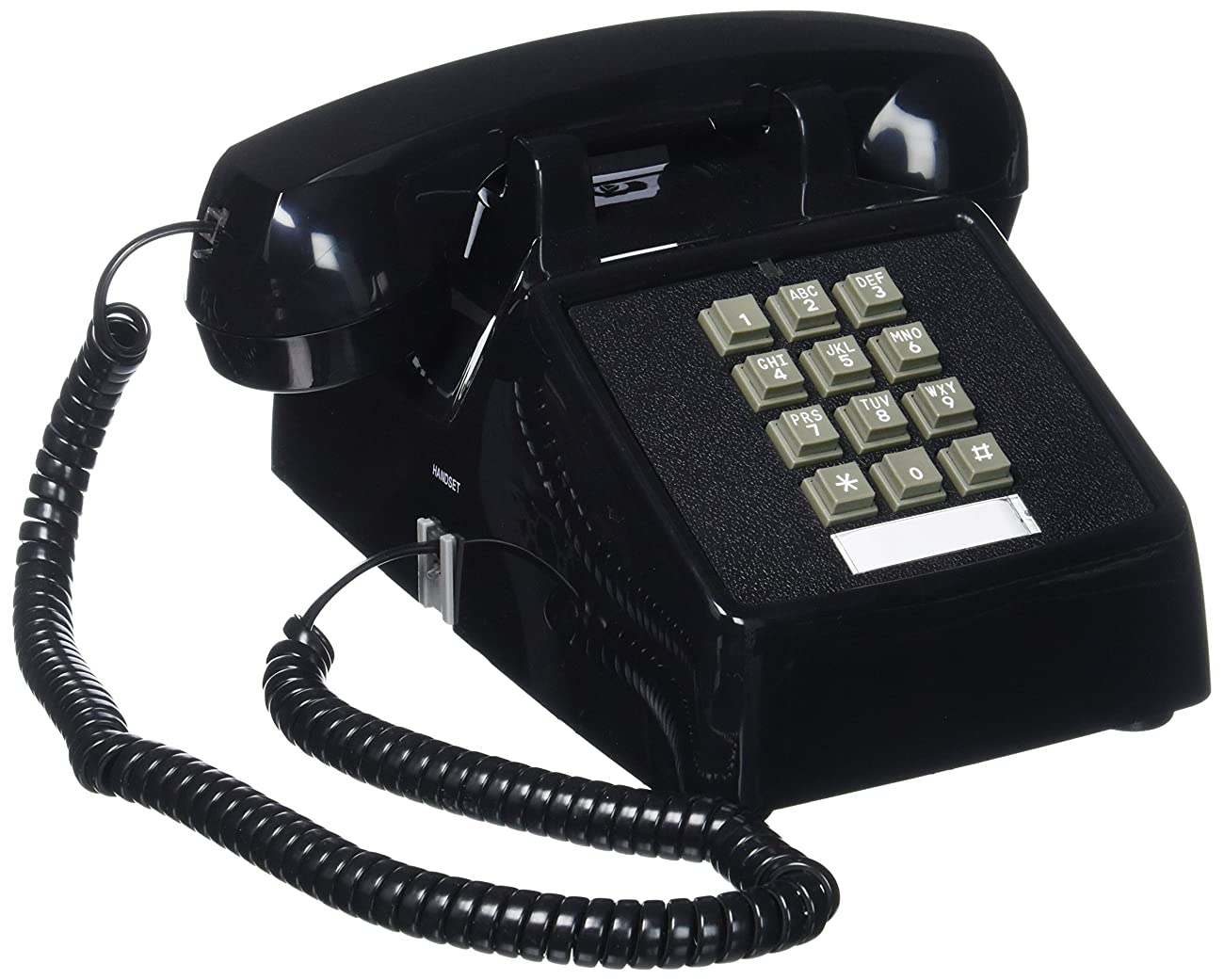 Cortelco(ITT-2500-MD-BK) Single Line Desk Telephone 0
