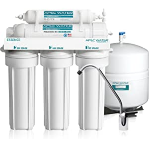 APEC - Top Tier - Built in USA - Ultra Safe, Premium 5-Stage Reverse Osmosis System