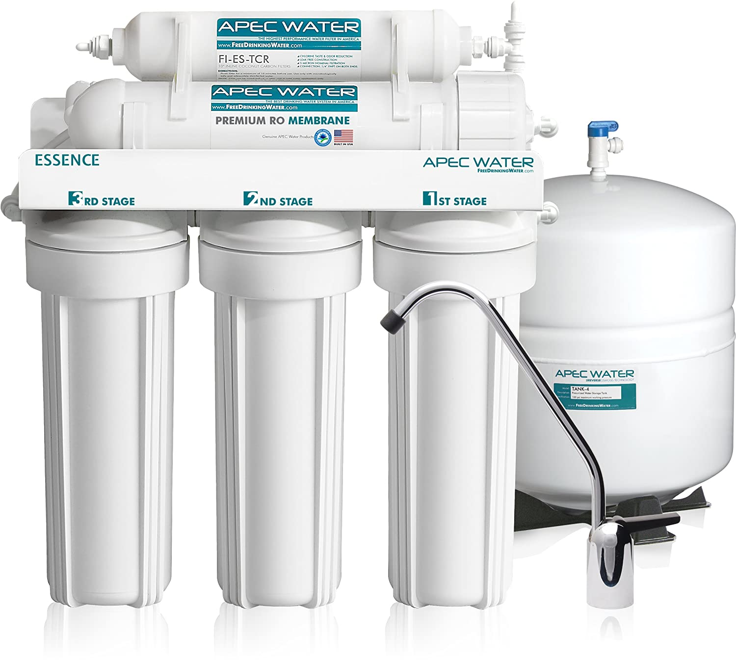 APEC Water 5-Stage Reverse Osmosis Filter System