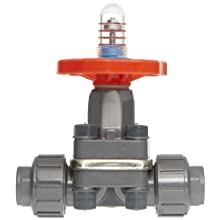 "Hayward PVC Diaphragm Valves, FPM Seal, 1/2"" Socket/Threaded"