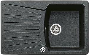 BLANCO NOVA 45 S Spüle SILGRANIT PuraDur II anthrazit   Kundenbewertung und weitere Informationen