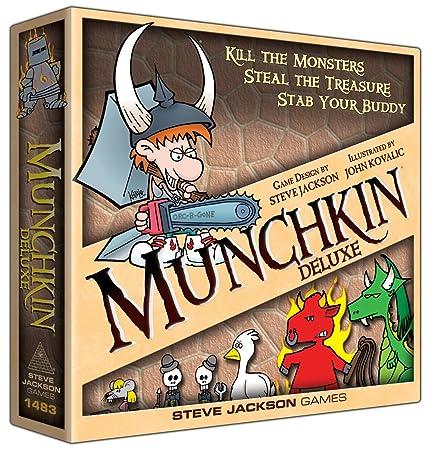 Munchkin - 332182 - Jeu De Cartes - Deluxe [Anglais]