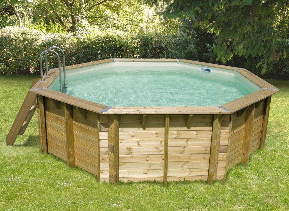 Le top 5 des piscines hors sol en bois piscines et jacuzzi - Demarrage piscine hors sol ...