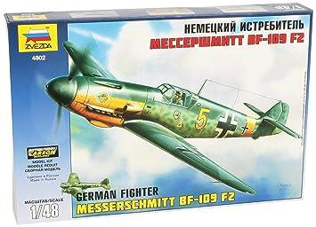 Zvezda - Z4802 - Maquette - Messerschmitt BF109F-2 - Echelle 1:48