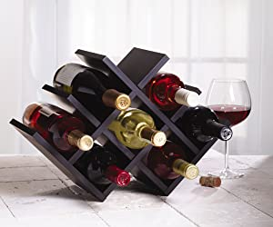 Kamenstein Decorative Wine Rack, Butterfly, 8-bottle