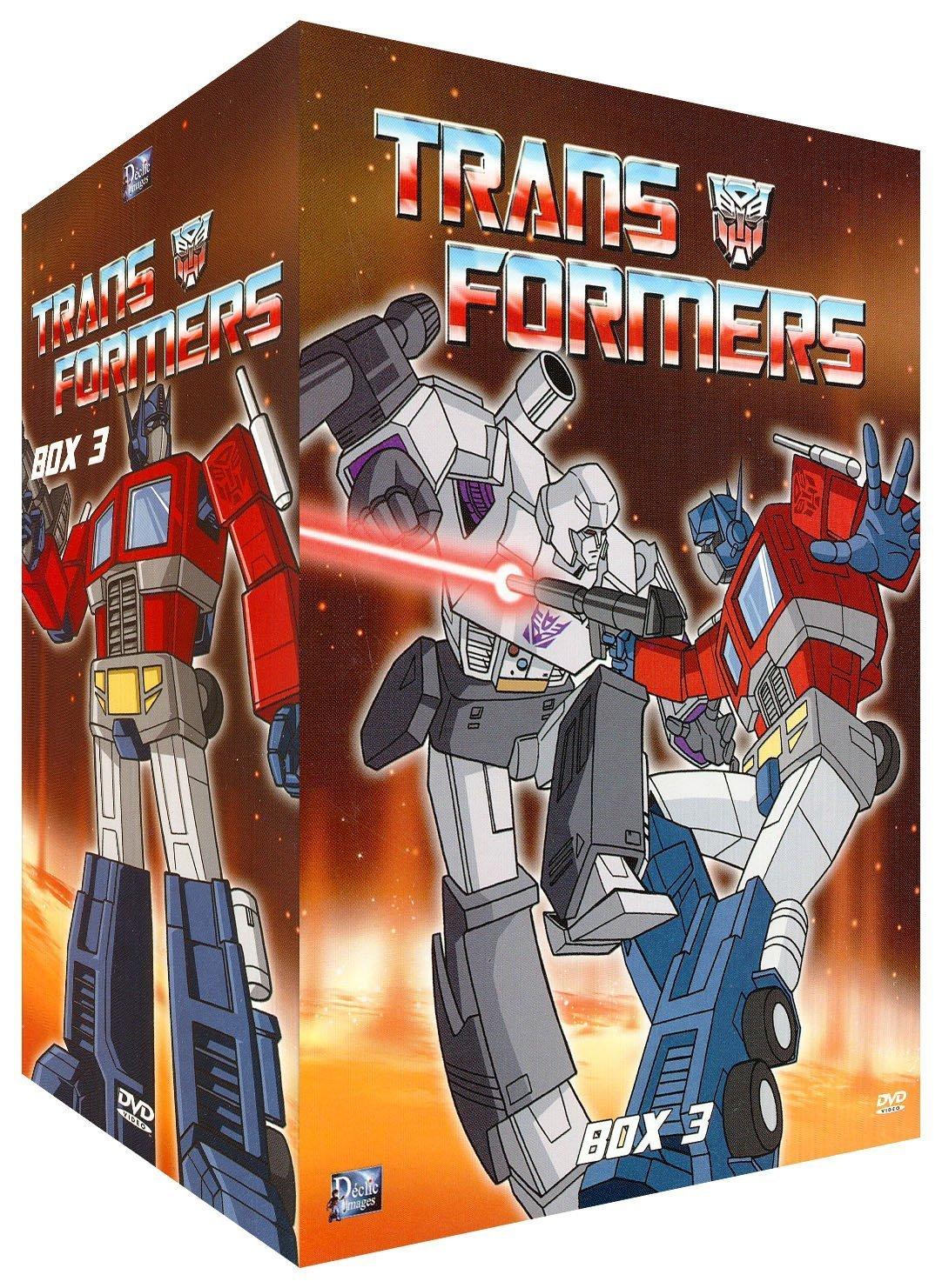 Coffret DVD de Les Transformers (G1) de France par Déclic Images et UFG Junior 81TXt0v9-DS