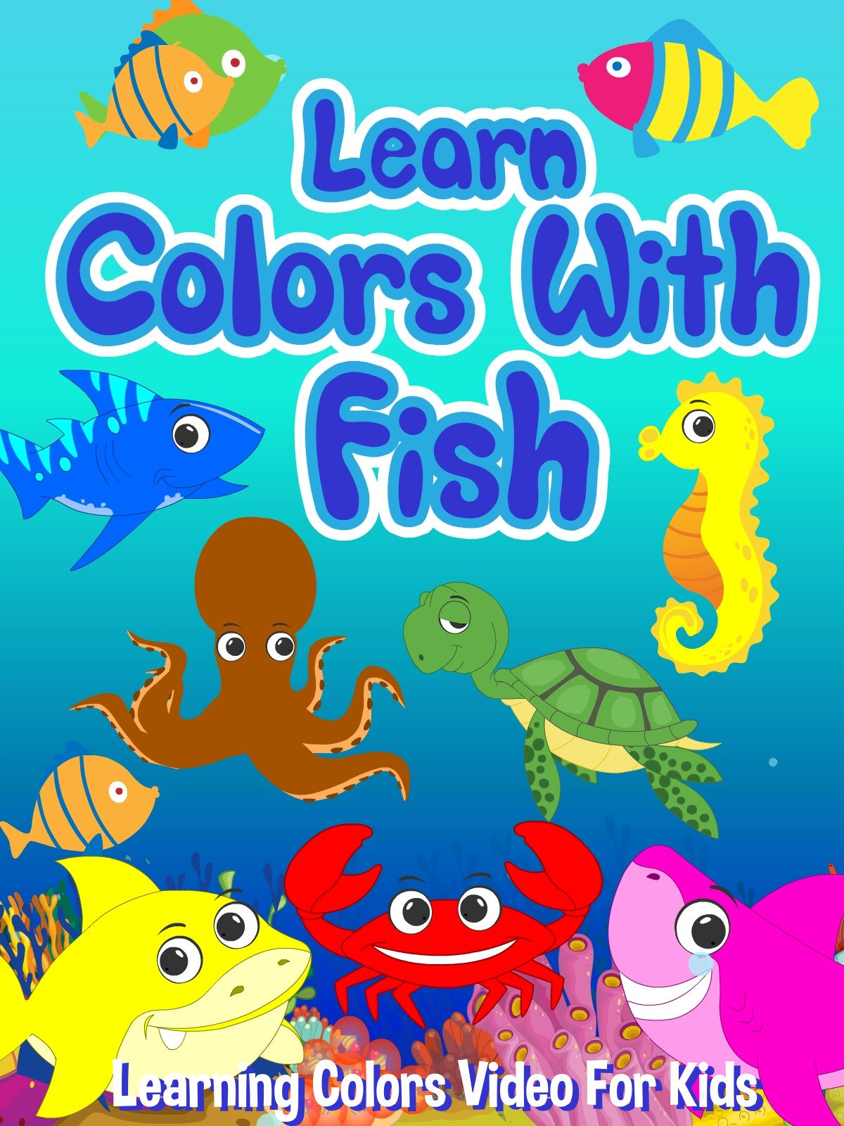 Learn Colors With Fish