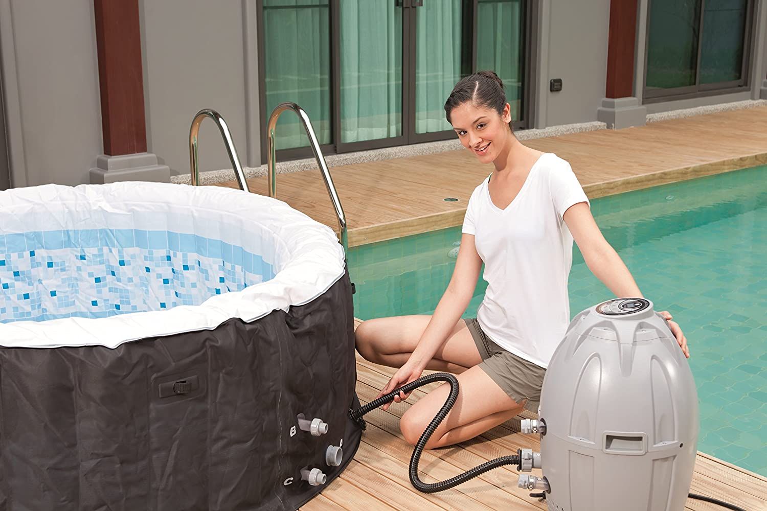 If you're not sure on which inflatable jacuzzi to buy, have a look at our top picks.