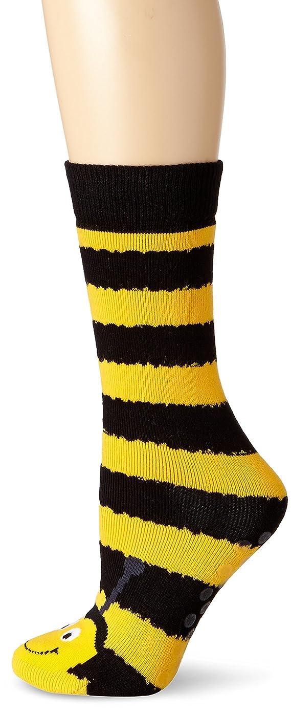 K Bell Socks Women's Bee Tube Non-Kid Slipper Socks