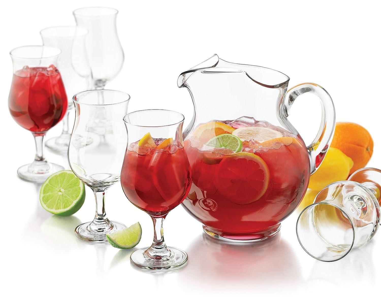 The best wine gifts black sangria halloween punch - Plastic sangria glasses ...