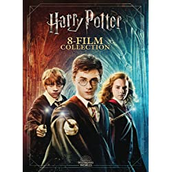 Harry Potter 8-Film Collection 20th Anniversary Line Look (DVD)