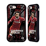 Official Liverpool Football Club Mohamed Salah 2017/18 First Team Group 1 Hybrid Case for Apple iPhone 7 Plus / iPhone 8 Plus