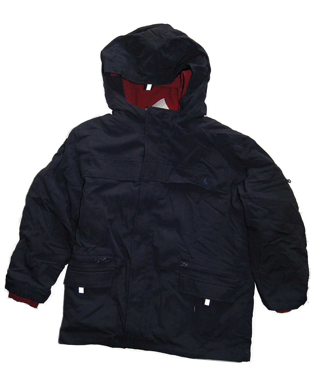 Bondi Jungen Winter-Jacke Doppel-Jacke Fleece-Jacke dunkelblau rot Gr. 128 jetzt bestellen