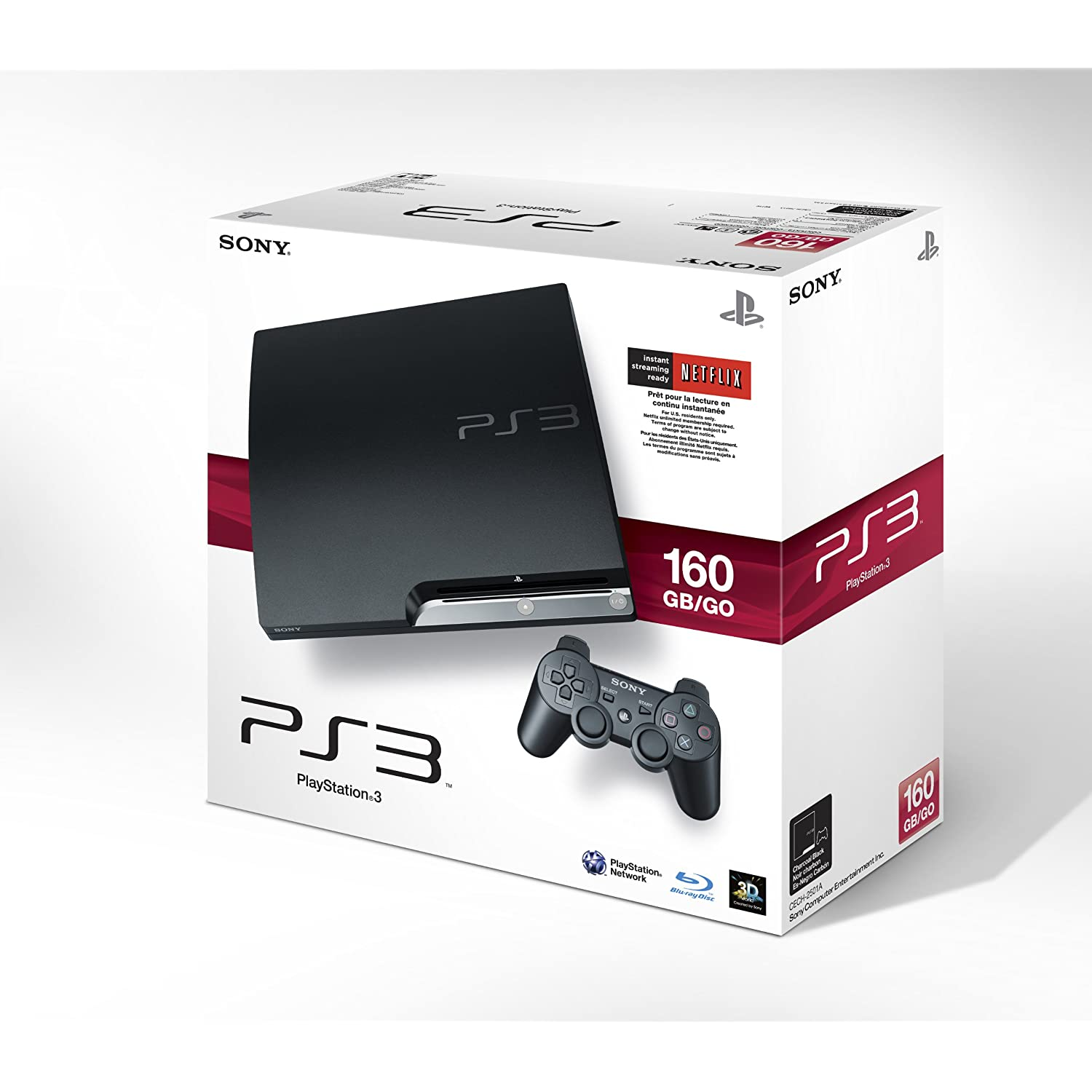 PS3 Slim (160GB)