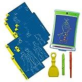 Boogie Board Disney Frozen II Magic Sketch | Kids Tablet, 4 Stylus, Stencils of Frozen Characters Elsa, Anna, Olaf & More (Color: Disney's Frozen II)