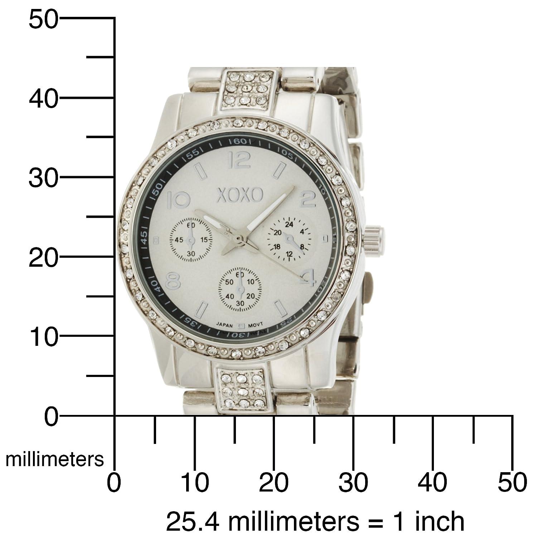 Đồng hồ nữ XOXO Womens XO5203 Rhinestone Accent Silver-tone Bracelet. E24h. vn