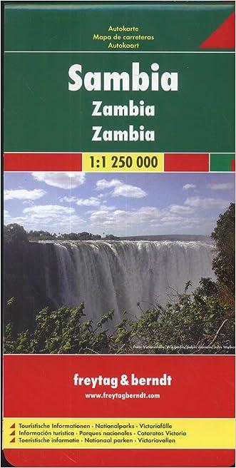 Zambia (Road Maps)