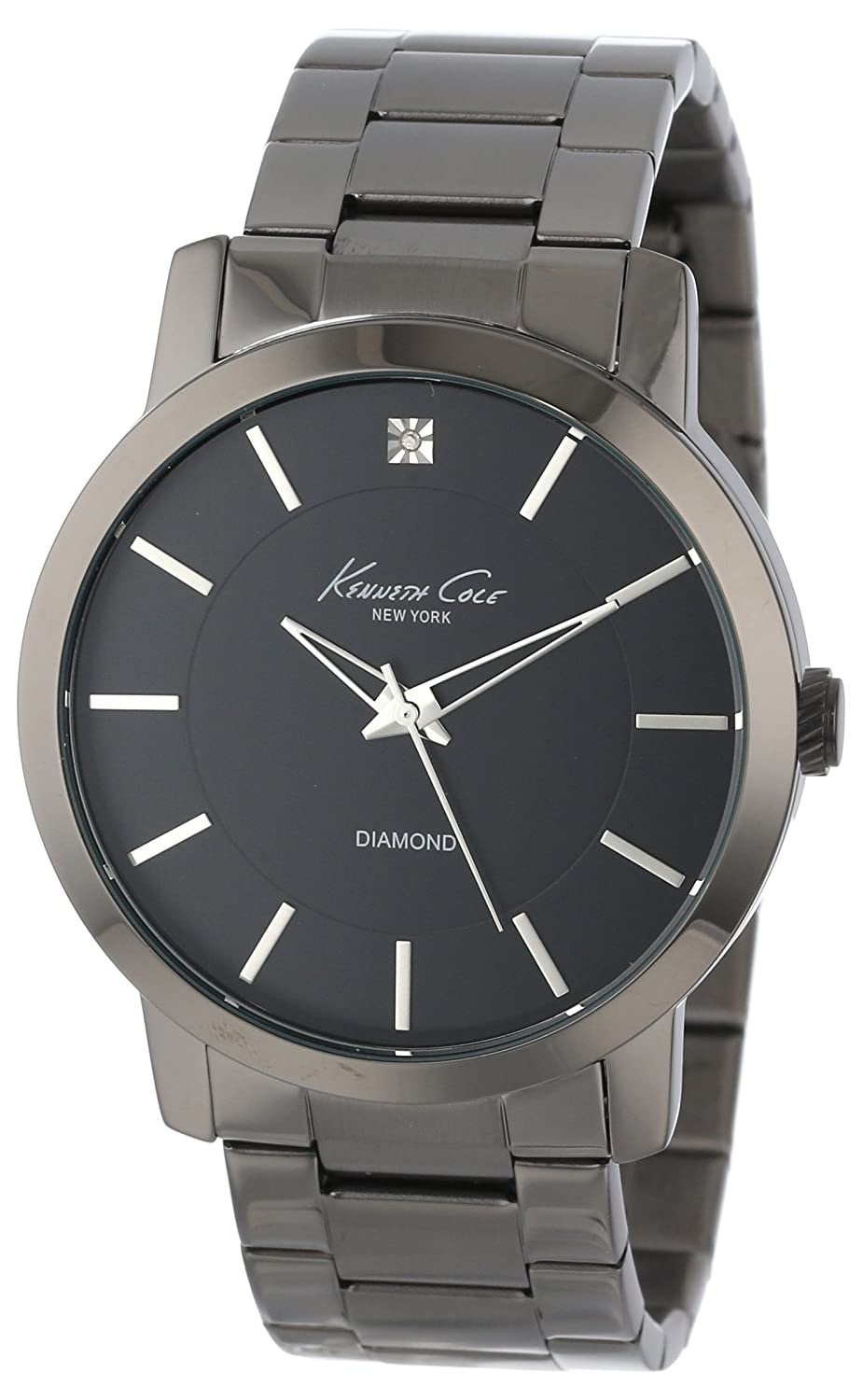 buy kenneth cole analog black dial men s watch ikc9286 online at buy kenneth cole analog black dial men s watch ikc9286 online at low prices in amazon in