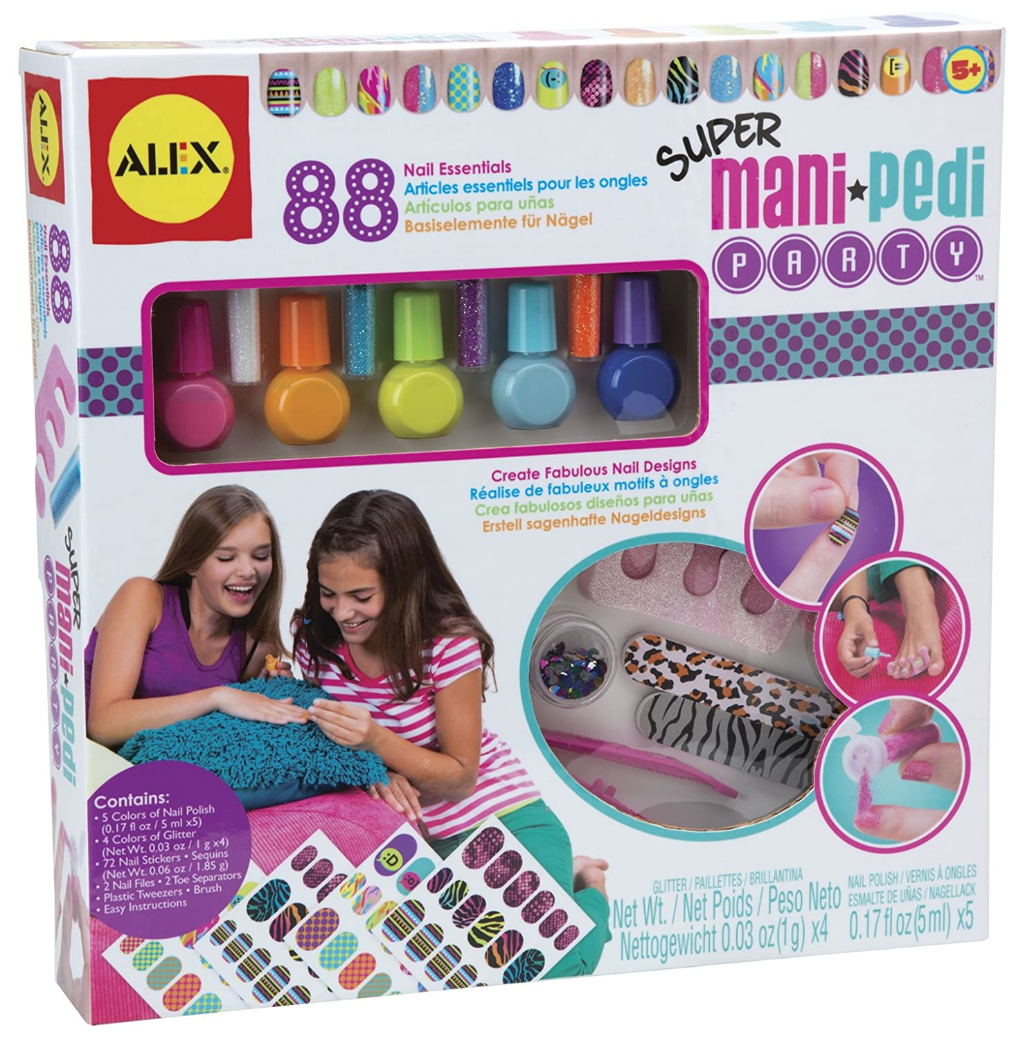 ALEX Toys Spa Super Mani Pedi Party