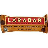 16-Pack Larabar Fruit & Nut Peanut Butter Chocolate Chip Gluten Free 1.6 oz Food Bars