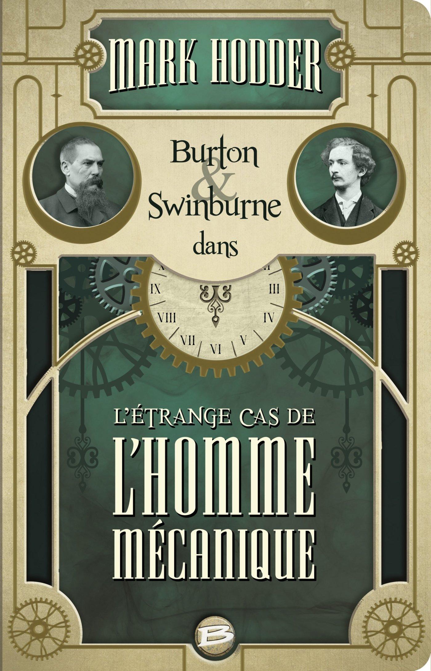 Burton & Swinburne, Tome 2 : L'Étrange Cas de l'Homme Mécanique 81TdCxgu0dL