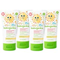 4-Pack Babyganics Mineral-Based SPF 50 Baby Sunscreen Lotion 2-oz. Tube