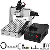 VEVOR CNC Machine 3020 CNC Router 3 Axis CNC Router Engraver Machine 500W CNC Router Engraving Drilling Milling Machine MACH3 with Usb Port for DIY Artwork (3 Axis,300x200mm,500W) (Color: 3 Axis, Tamaño: 300x200mm)