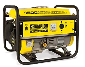 Champion 1500 Watt Portable Generator Review