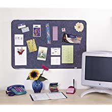 Post-it Self-Stick Bulletin Board, 18 x 22-Inches, Indigo Blue