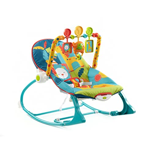 Fisher-Price Infant To Toddler Rocker Chair Dark Safari