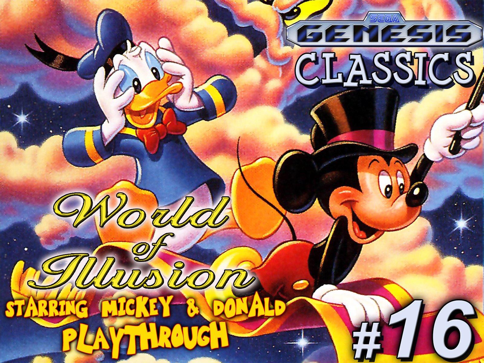 Clip: World of Illusion Starring Mickey & Donald Playthrough (Genesis Classics 16) - Season 1