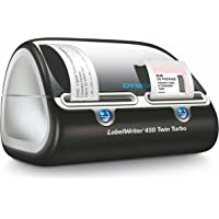 DYMO LabelWriter 450 Twin Turbo Label Printer (Black/Silver)