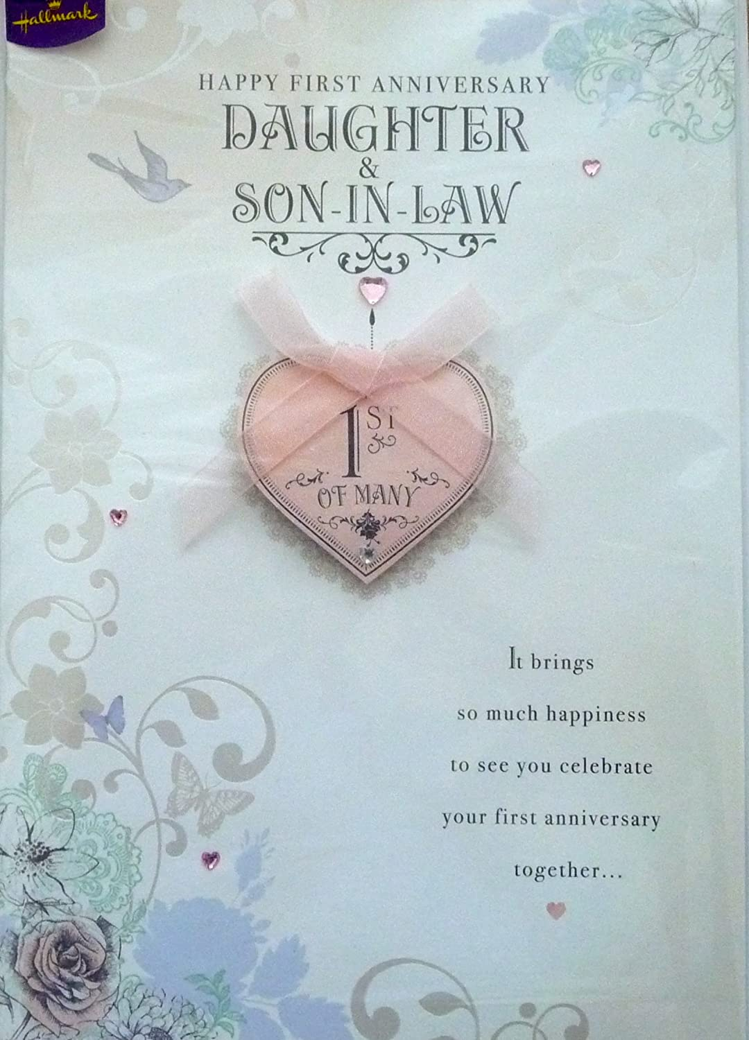 1st Wedding Anniversary Gift For Daughter And Son In Law : Marriage Anniversary Quotes For Daughter And Son In Law. QuotesGram
