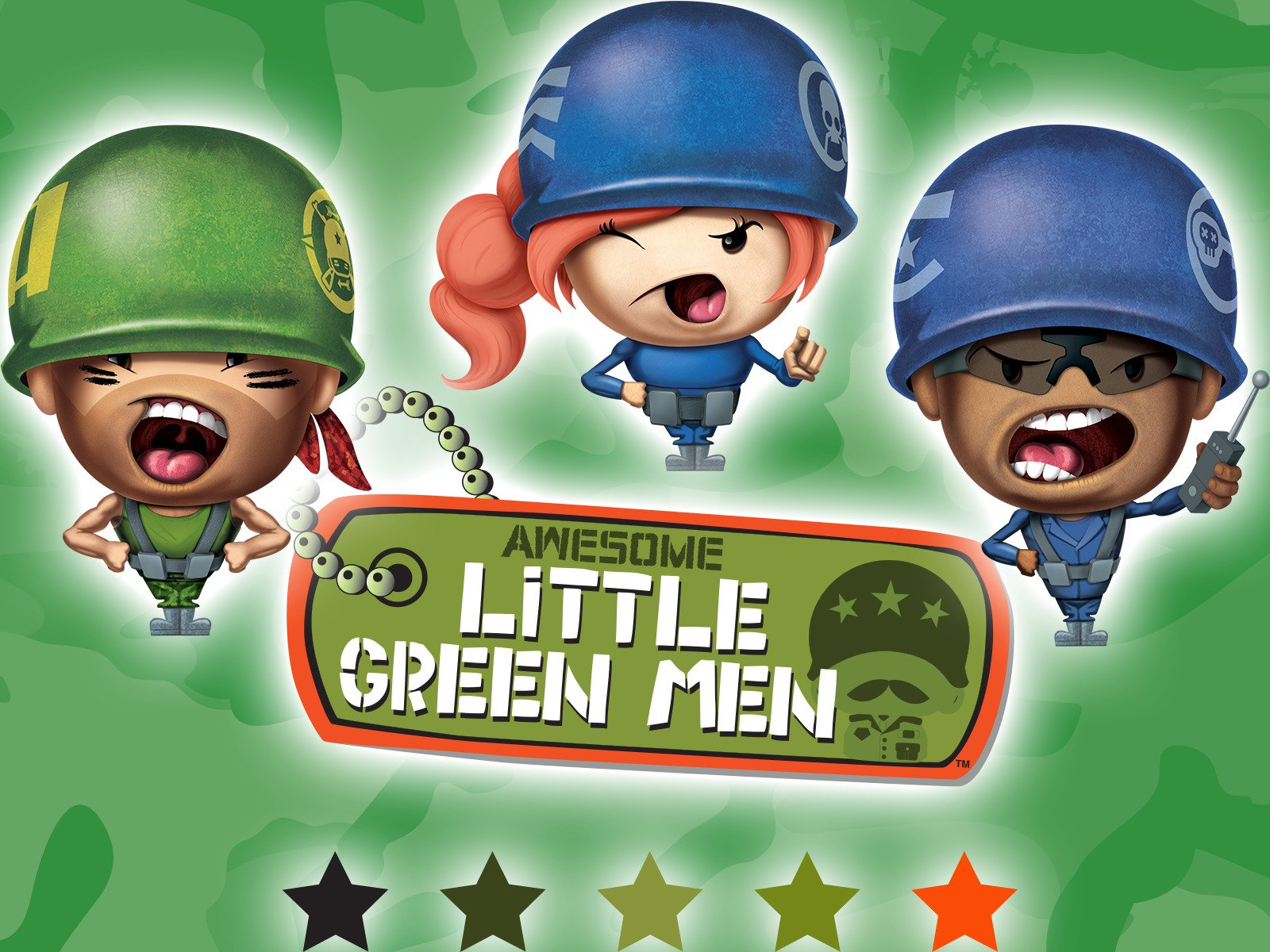 Awesome Little Green Men - Season 1