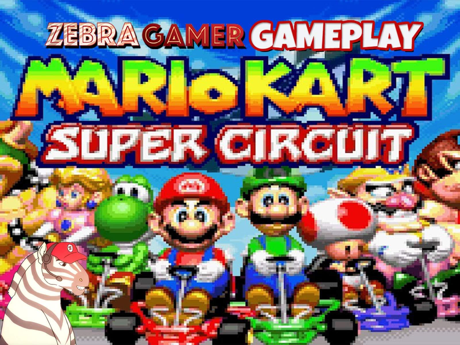 Clip: Mario Kart Super Circuit Gameplay - Zebra Gamer - Season 1